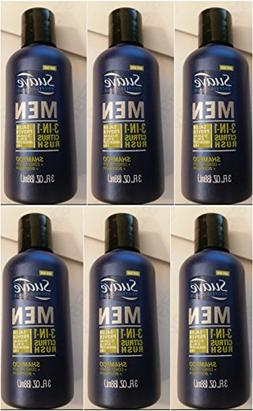 Suave Men 3-in-1 Shampoo + Conditioner + Body Wash Citrus Ru