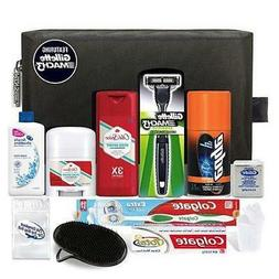 CONVENIENCE KITS Men's Premium Travel Kit, TSA Approved, Ess