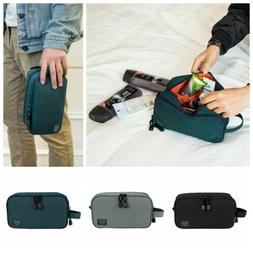Mens Toiletry Bag Travel Wash Shower Bag Organizer Waterproo