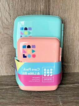 mini travel size care pack and little