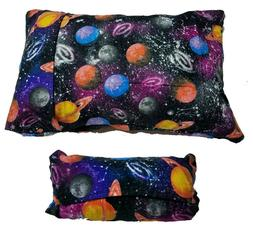 """MY Pillow Travel Sized Case - Flannel - PLUS """"EASY ATTACH LO"""