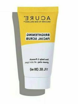 New Acure Brightening Facial Scrub - 1 oz. Trial/Travel Size