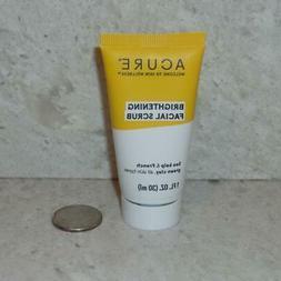 NEW Acure Brightening Facial Scrub Travel Size 30ml 1oz