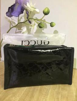 New Gucci Guilty Parfums Black Case Pouch Make Up Bag Toilet