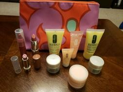 NEW Set Lot Of 11 CLINIQUE Products Travel Size Deluxe Sampl