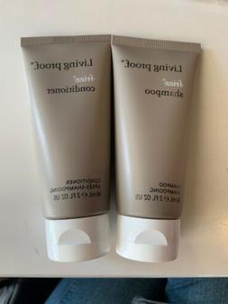 Living Proof NO FRIZZ Shampoo & Conditioner 2oz Travel Size