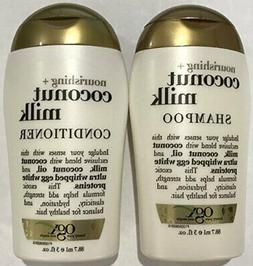 Ogx Nourishing Coconut Milk Shampoo & Conditioner Travel Siz