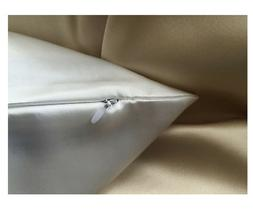 One Silk Pillowcase 21x16 Zipped 100 % 19 momme Travel/Toddl