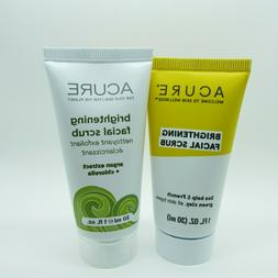 Acure Organics Brightening Facial Scrub Blue Tansy Night Oil