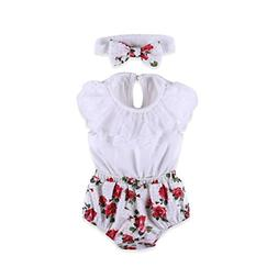 AutumnFall 2PCS Outfit Clothes Toddler Infant Baby Girls Lac