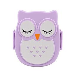 AutumnFall® Owl Lunch Box Food Container Storage Box Portab