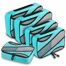 ANRUI Packing Cubes, 5-pcs Travel Organizer Accessories, 3 V