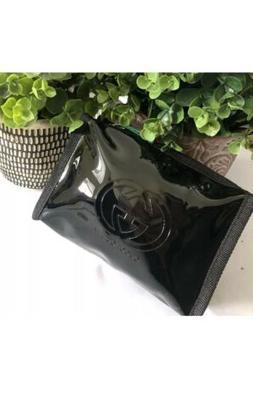Gucci Guilty Parfums Black Case Pouch Make Up Bag Trousse To