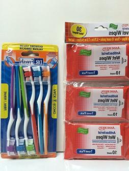 Personal Care Value Pack; Toothbrush Mega-pk ; Antibacterial
