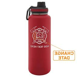 Army Force Gear Personalized Engraved Fire Department Takeya