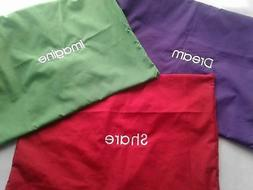 Personalized Toddler Shams Pillowcase  Embroidered Monogramm