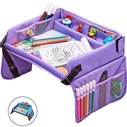 Kids Travel Tray – Activity, Snack, Travel Play Tray & Org