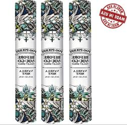 Poo-Pourri Before-You-Go Toilet Spray 3 x Travel Size, Vanil