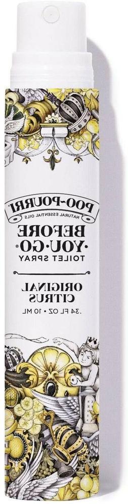 Poo-Pourri Before-You-Go Toilet Spray 10ml Travel Size, Orig