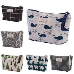 Portable Makeup Bag Cosmetic Pouch Travel Case Wash Toiletry