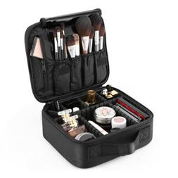Portable Pro Makeup Bag Cosmetic Train Case Travel Organizer