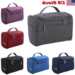 Professional Large Cosmetic Case Makeup Bag Storage Handle O