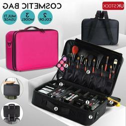 Professional Makeup Bag Cosmetic Case Storage Handle Organiz