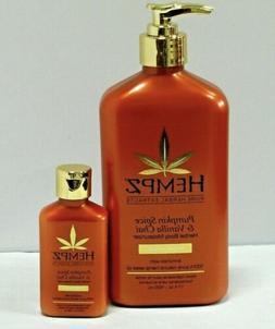 Hempz Pumpkin Spice and Vanilla Chai Body Moisturizer Lotion