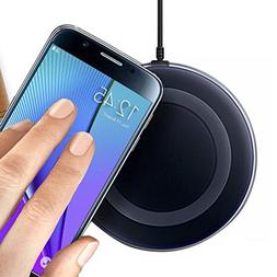 AutumnFall® Qi Wireless Charger Charging Pad for Samsung Ga