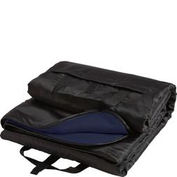 rec pak solid travel blanket waterproof black