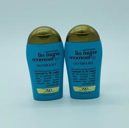 Ogx Renewing Argan Oil Lot Of 2 Morocco Shampoo 3 oz Each NE