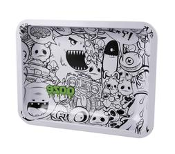 """Ooze Rolling Tray Metal Monsterous Medium 7""""x5"""" New Authenti"""