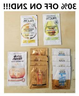 Sample Travel Size Hair Care, Shampoo Conditioner, Garnier,