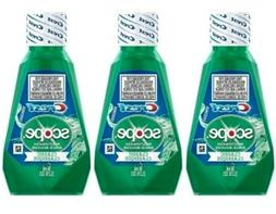 Crest Scope Classic Travel Size Mouthwash 1.2 ounce - 3 bott