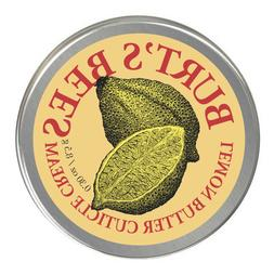 SEALED Burt's Bees Lemon Butter Cuticle Cream. Mini 0.3 oz T