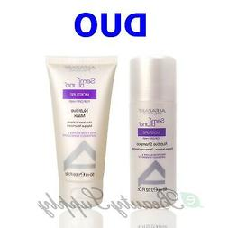 Alfaparf Semi Di Lino Moisture Nutritive Shampoo & Mask Trav