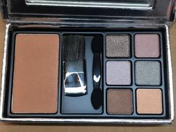ELizabeth Arden silver travel size makeup kit, 6 Eyeshadows,