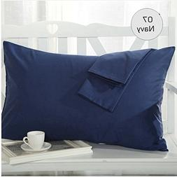 """Set of 2 - Toddler Travel Pillowcase 500 Thread Count 14""""x20"""