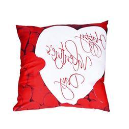 "AutumnFall 45cmX45cm/18""x18"" Square Valentine's Day Print Pi"