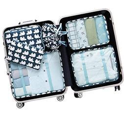 6Pcs Travel Storage Bags Clothes Underwear Packing Organizer