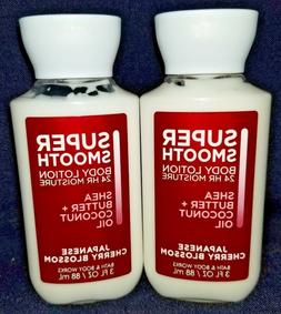Super Smooth Body Lotion 24 Hours Moisture Japanese Cherry B