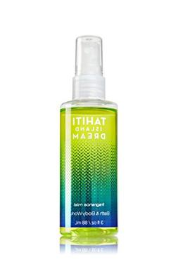 Bath and Body Works Tahiti Island Dream Fragrance Mist Spray