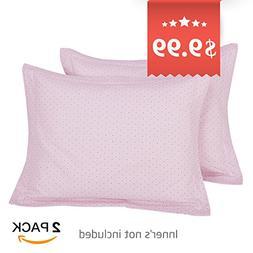TILLYOU Toddler Travel Pillowcase Pillow Sham 16x20 2 Pack 1