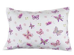 My Best Buddy Toddler Kids Pillowcase - Butterfly/Butterflie