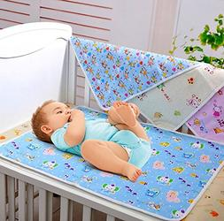 Bumud Baby & Toddler Waterproof Washable Diaper Changing Mat
