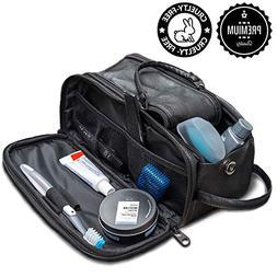 Toiletry Bag for Men or Women - Dopp Kit For Travel. Cruelty