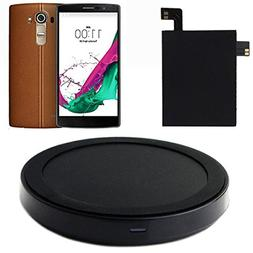 TowallmarkQi Wireless Charger Charging Pad + Receiver Sticke