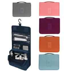 Travel Cosmetic Makeup Bag Toiletry Hanging Zip Organizer St