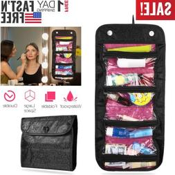 Hanging Toiletry Organizer Bag Travel Makeup Cosmetic Pouch