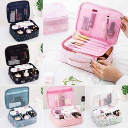 Travel Cosmetic Makeup Bag Toiletry Storage Case Hanging Pou